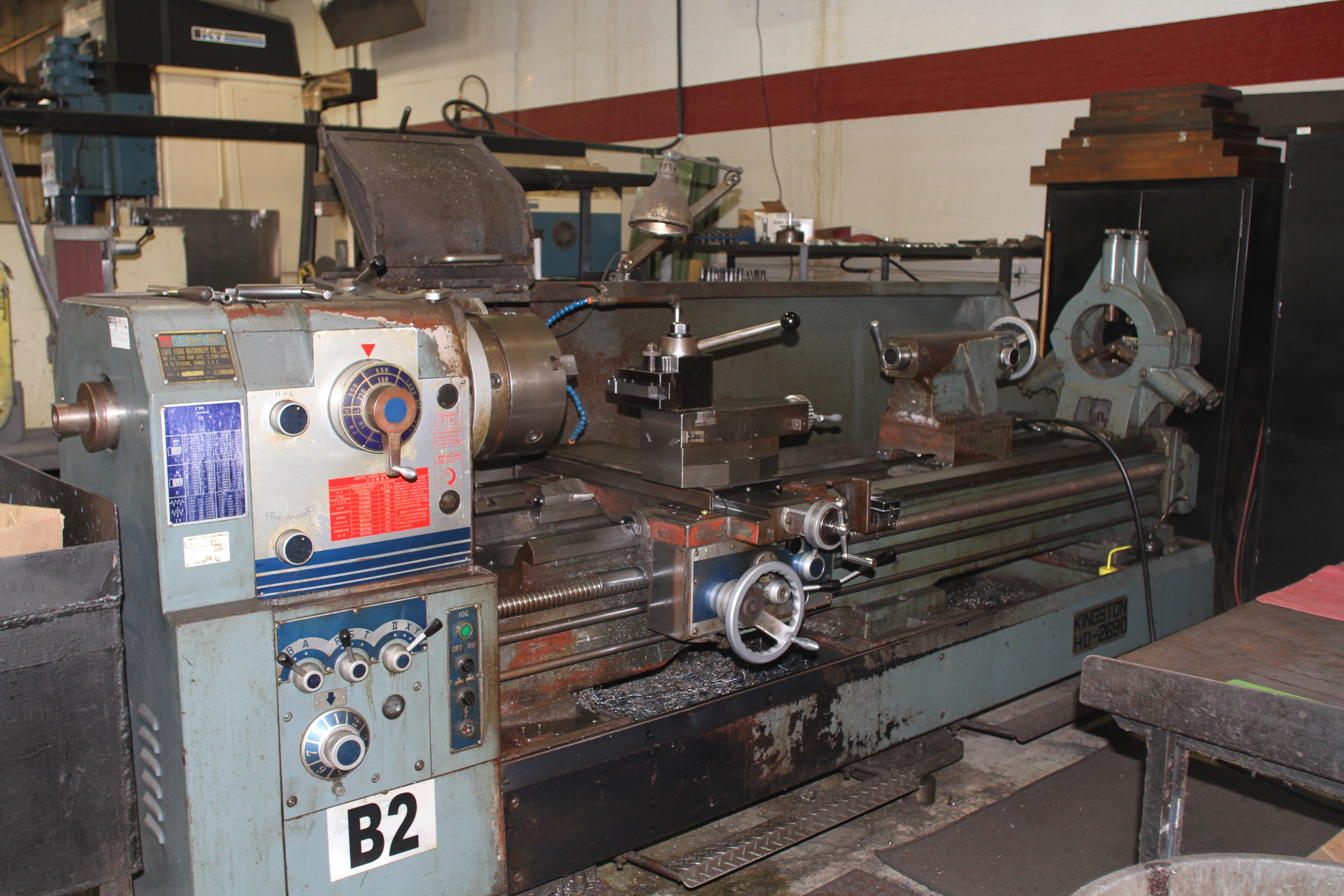 Kingston lathe